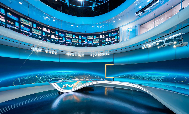 国际资讯_中央电视台新闻频道 | 第七演播室 + 第十一演播室 - Clickspring Design